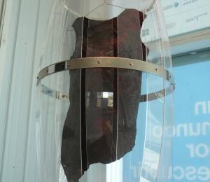 Vestido fabricado a partir de vid