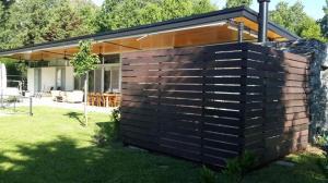 Muro madera plastica